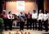 Ehrung der Jubiläums - Orchestermitglieder