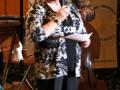 Unsere Moderatorin des Abends - Heidi