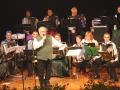 Das Orchester im feschen Trachtengwand
